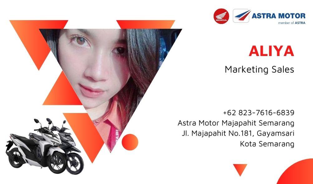 Aliya Marketing and Sales Dealer Astra Honda Sepeda Motor Semarang