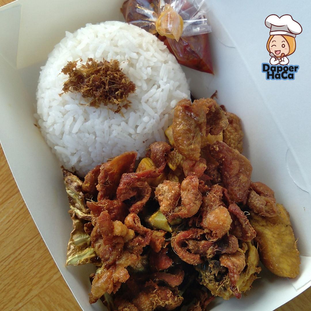 Nasi Kulit Ayam by Dapoer HaCa